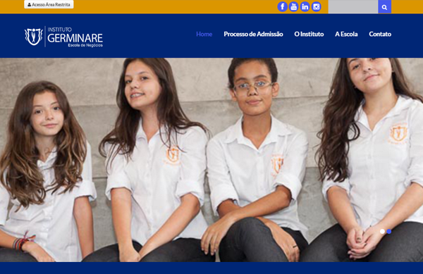 Website de Escola